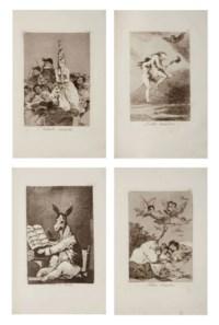 GOYA Y LUCIENTES, Francisco José de (1746-1828). [Los Caprichos. Madrid: par l'auteur, 1799.]